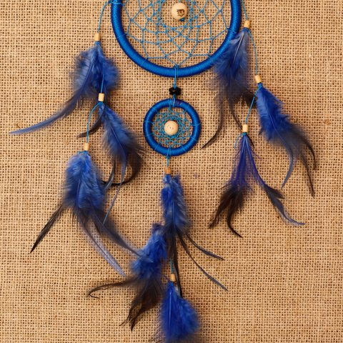 Dreamcatcher azul  -  35cm na internet