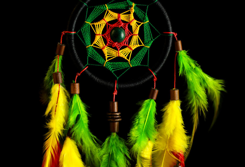 Dreamcatcher -  Reggae Music  -  30cm