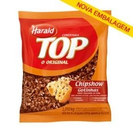 COBERTURA CHIPSOW CHOCOLATE HARALD 1KG