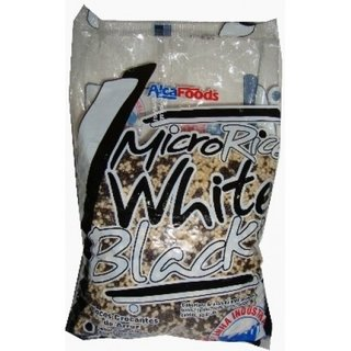 MICRO RACE BOLL WHITE/BLACK  ALCAFOODS 500GR