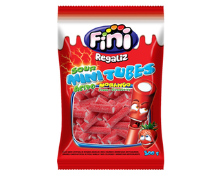 MINI TUBETES MORANGO CITRI FINI 500GR
