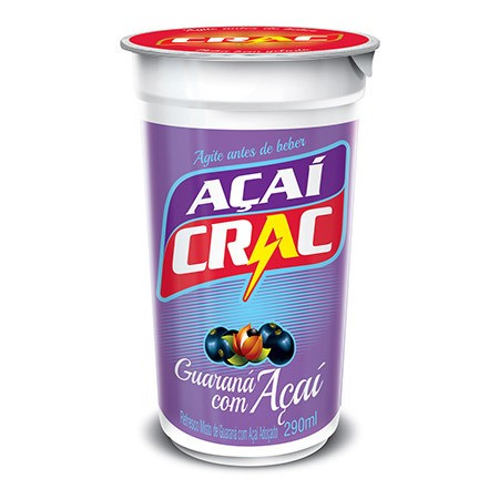 Crac guaraná açaí cx 24un