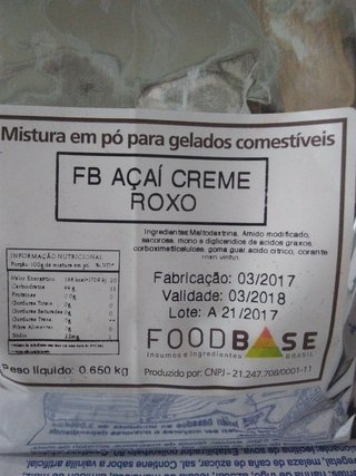 Base açaí foodbase 650gr