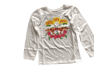 Remera Sweet Child Blanca