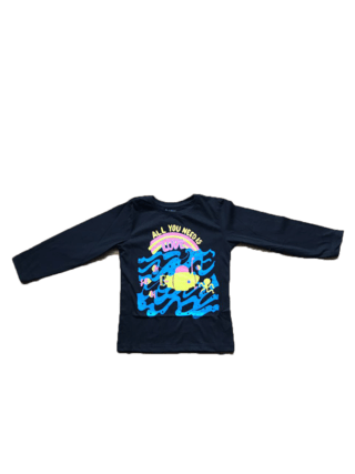 Remera Love Submarine Negra