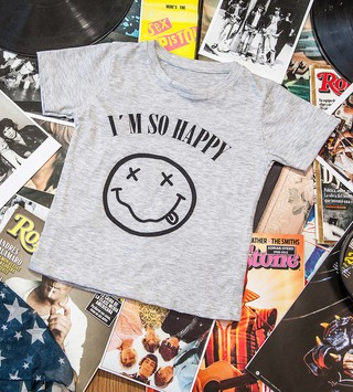 Remera Happy Kurt niños