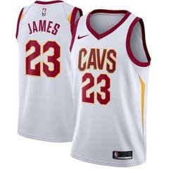Men's Nike NBA Connected Jersey LeBron James Association Edition Swingman Jersey (Cleveland Cavaliers) - LoDeJim