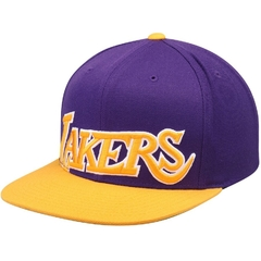 "MITCHELL & NESS LOS ANGELES LAKERS ""XL LOGO CROPPED"" SNAPBACK"