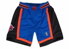 Mitchell & Ness New York Knicks NBA Authentic Men's Mesh Team Shorts - 1996-1997