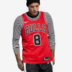 Chicago Bulls Zach LaVine Nike Red Replica Swingman Jersey - Icon Edition - LoDeJim