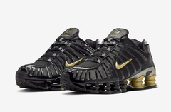 "NIKE SHOX TL 1 ""NEYMAR"" BLACK/GOLD - MEN'S"