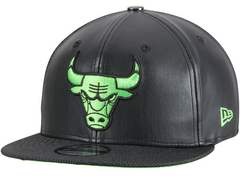 "NEW ERA CHICAGO BULLS BLACK/GLOW ""ALTITUDE"" SNAPBACK"