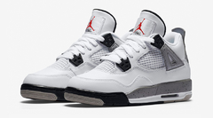 "AIR JORDAN RETRO 4 OG ""WHITE CEMENT"" - GS - comprar online"