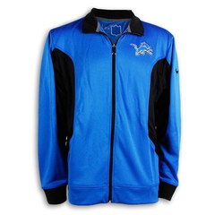 "NIKE NFL ""LIONS DETROIT"" DRI-FIT TRACK JACKET - MEN'S"
