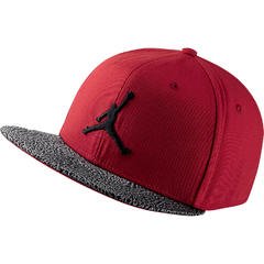 "JORDAN JUMPMAN ELE BILL ""RED"" SNAPBACK"