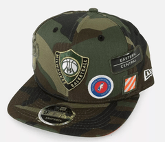 MILWAUKEE BUCKS PATCHED HIGH CROWN 9FIFTY SNAPBACK