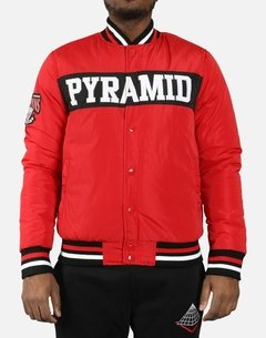 BLACK PYRAMID 'PYRAMID' CHAMPION STARTER JACKET en internet