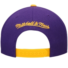 "MITCHELL & NESS LOS ANGELES LAKERS ""XL LOGO CROPPED"" SNAPBACK - comprar online"