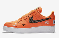 "NIKE AIR FORCE 1 LOW ""JUST DO IT"" ORANGE - MEN'S - comprar online"