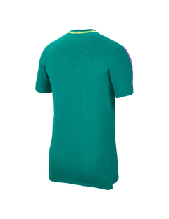 "NIKE NSW DRI FIT NK ""WILD RUN"" TOP TEE GREEN - MEN'S - comprar online"