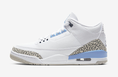 "AIR JORDAN RETRO 3 ""UNC 2020"" - MEN'S"