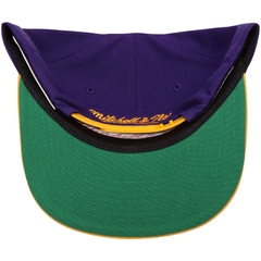 "MITCHELL & NESS LOS ANGELES LAKERS ""XL LOGO CROPPED"" SNAPBACK en internet"