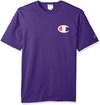 "CHAMPION LIFE ""LOGO PRINT"" TEE PURPLE - MEN'S"