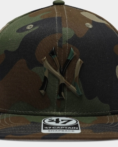 "'47 BRAND NEW YORK YANKEES ""CAMO TPU"" SNAPBACK en internet"