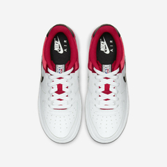 NIKE AIR FORCE 1 LOW LV8 NBA SATIN RED - GS - tienda online
