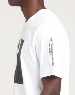 "JORDAN 23 ENGINEERED S/S ""WHITE/BLACK"" TEE - MEN'S - LoDeJim"