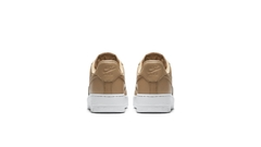 "NIKE AIR FORCE 1 LOW ""VACHETTA TAN/METALLIC SILVER"" - WOMEN'S - LoDeJim"