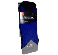 Under Armour SC30 Drive Crew Basketball Sock Blue U374 - L - comprar online