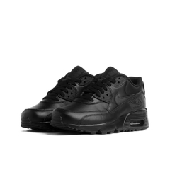 Air Max 90 Leather (GS) BLACK