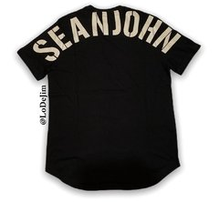 sean john shoulder to shoulder t-shirt & reviews black - comprar online
