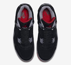 "Air Jordan Retro 4 ""Bred"" - Men's - LoDeJim"