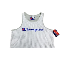Champion Authentic Athleticwear Reversible White/Grey Tank - L - comprar online