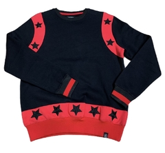 "Hudson Sweater Pullover ""Black Stars"" - Men's"