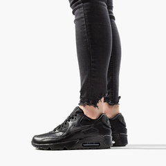 Imagen de Air Max 90 Leather (GS) BLACK