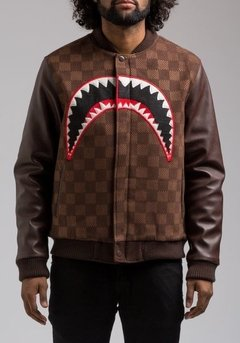 HUDSON SHARK MOUTH VARSITY JACKET en internet