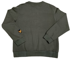 WT02 Pocket Sweatshirt Patches Olive - Hooded en internet