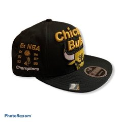 New Era 9Fifty Original Fit 6 x NBA Chicago Bulls Champions 91/92/93/96/97/98 - comprar online