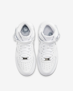 "Nike Air Force 1 Mid '07 ""White/White"" - GS - tienda online"