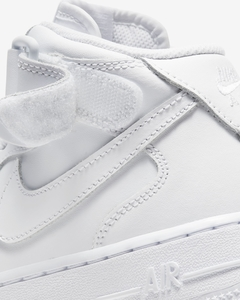"Nike Air Force 1 Mid '07 ""White/White"" - GS en internet"