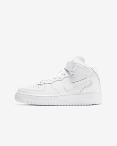"Nike Air Force 1 Mid '07 ""White/White"" - GS - comprar online"