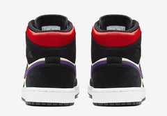 "Air Jordan 1 Mid ""Lakers Top 3"" - Men's - LoDeJim"