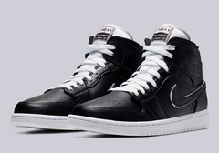 "Air Jordan 1 Mid Black White ""Maybe I Destroyed The Game"" - comprar online"
