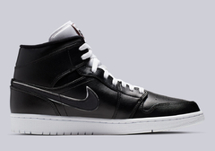 "Air Jordan 1 Mid Black White ""Maybe I Destroyed The Game"" en internet"
