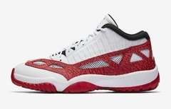 "AIR JORDAN RETRO 11 LOW ""EI FIRE RED"" - MEN'S"