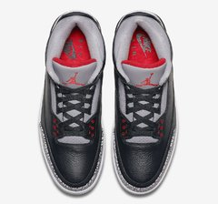"NIKE AIR JORDAN RETRO 3 ""BLACK CEMENT"" OG - MEN'S - LoDeJim"