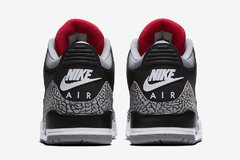 "NIKE AIR JORDAN RETRO 3 ""BLACK CEMENT"" OG - MEN'S - tienda online"